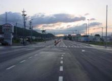 国道4号 米村道北 道路拡幅