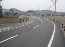 県道増見小田倉線 道路改築