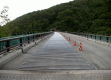 国道289号 甲子大橋 消融雪舗装