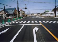 国道289号 椙山工業団地入り口 交差点改良