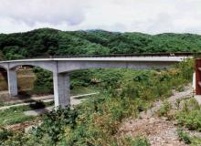 堀川ダム付替道路橋