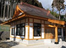 常願寺新築工事 木造1F