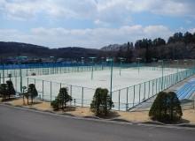 しらさかの森スポーツ公園 テニスコート改修